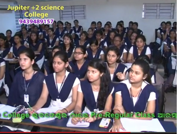 Classroom teaching at Jupiter Science College